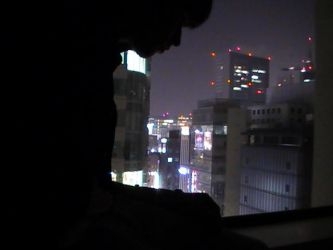 Me and the Tokyo Skyline by ScopedEvil