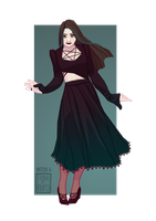 [open] Adopt - Witch 4 by fionadoesadopts