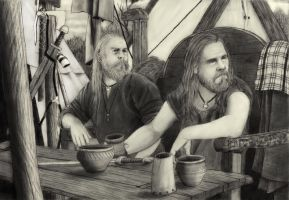 Viking Friends by IlmarinenKowal