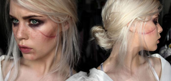 Ciri - The Witcher 3 Makeup Test by Mirish