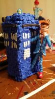 Twist Tie Tennant and Tardis by justjake54