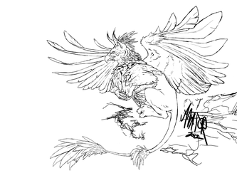 Wacom Gryphon Ink by avator