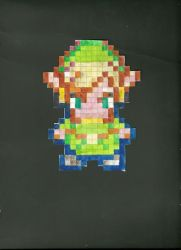 8-bit link by shinigami8801