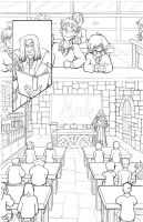 Harry Potter: Philosopher's Stone pencils page i by Murielle