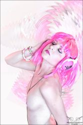 Pink Notes_1 by Silhouette777