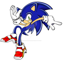 Sonic SA style 2010 by linkinparkathome
