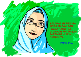 Happy Fasting Month by ujangzero