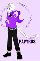 Undercrush Papyrus (Papi) by Grace-the-Skeleton