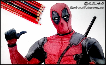 Deadpool by Keith-arts02