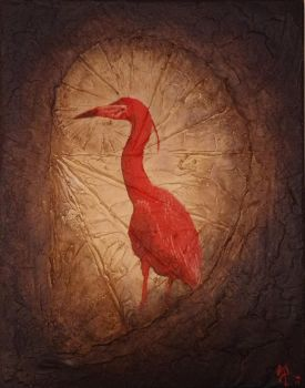 Red Heron by SMann