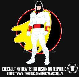 Space Ghost Tee by AlanSchell