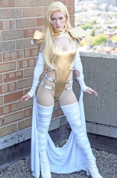 Phoenix Force Emma Frost by RuffleButtCosplay