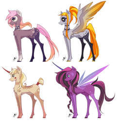 [PEND] Pony Adopts auction: Points or PP by LunnaDeLuna