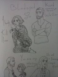 Blindspot Fanart - More Or Less? by VPadial