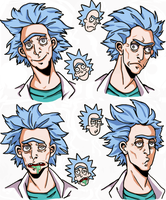 Rick Sanchez by LucLeon