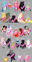 Taum Bomb TAUM SQUAD [All claimed!!] by Hap-py