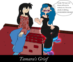 Request: Tamara's Grief by XaveNDaNirvana