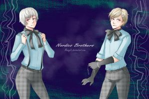 APH Nordics brothers by MaryIL