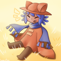 Smiley Niko by kemofoo