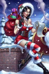Zenescope 2014 Holiday Edition cover by Sabinerich