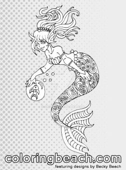 Sirenz Beck Beach Deviantart Icp Coloring Pages