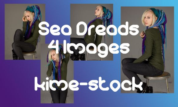 Sea Dreads 2 by kime-stock