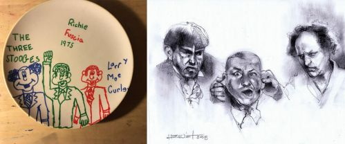 Three Stooges by Fusciart