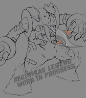 Regigigas LEGEND Sketch