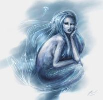 Mermaid by Egretink