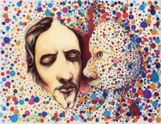 Hallucinogenic Christ by DRagsdale