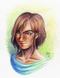 Vas- Colored pencils by ZymploxX