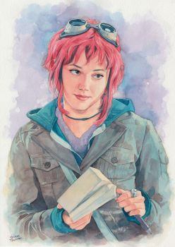 Ramona Flowers by Trunnec