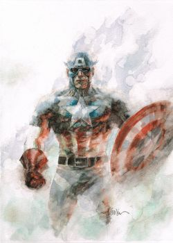 cap on canvas by leinilyu