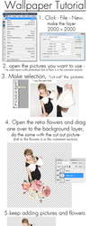 Wallpaper tutorial - Taylor S by Spenne