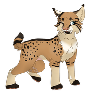 :CLOSED:Saber Bobcat Auction by Queen-Bea