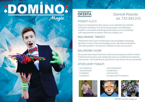 Leaflet for ilusionist by miguslaw