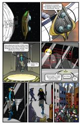 Metroid Comic Page 4 by Dyir