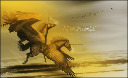 fall into your sunlight.. by devils-horizon