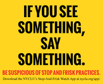 If You See Something Say Something by BullMoose1912