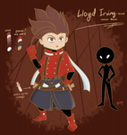 Lloyd Irving-themed custom Mocchi by Miikage