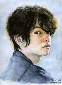 Sato Takeru Portrait by Kyuius