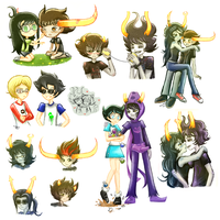 Homestuck_Doodles_5 by Panikari
