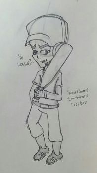 Bored to Sketch: Redrawing 2015 Scout by Riyana2