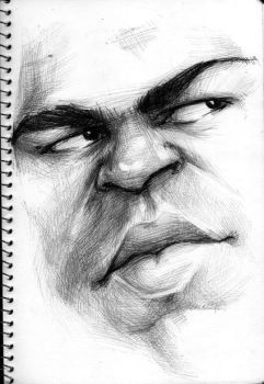 Mohammed Ali 2 by Parpa