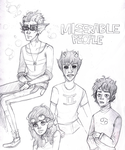 Miserable People by KaminaX