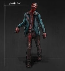 Zombie dude by Chawes-the-maniac