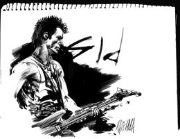 Sid vicious by MGuevara