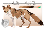 Willow reference sheet 2018 by foxchirps