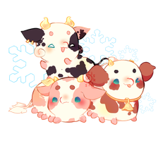 [ CLOSED ] Pacadvent - 8 Tiny Moos by riskins
