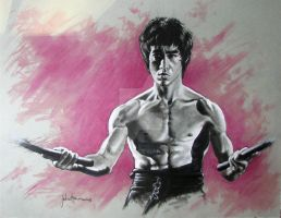 BRUCE LEE by JohnHaunLE